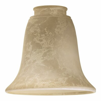 Mottled Scavo Tulip 5.5 Glass Bell Pendant Shade Finish: Iced Etruscan
