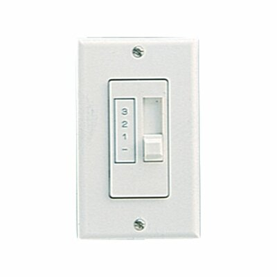 Slider Fan Remote Control Finish: White