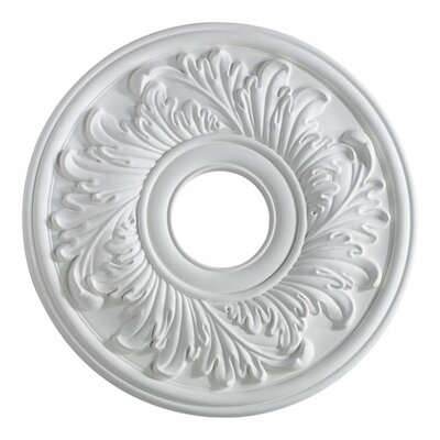 Ceiling Medallion in Studio White