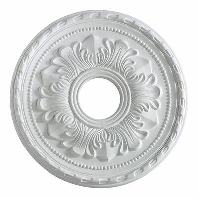 17 Ceiling Medallion in Studio White