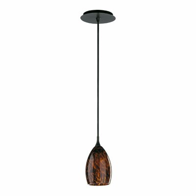 1-Light Tortoise Dome Pendant Finish: Old World