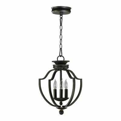 Palmatier 3-Light Foyer Pendant