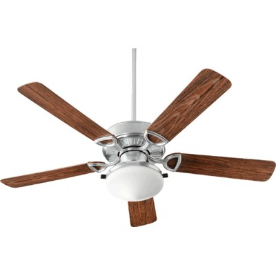 52 Estate 5-Blade Patio Ceiling Fan Finish: Galvanized
