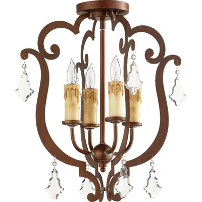 Montgomery 4-Light Foyer Pendant