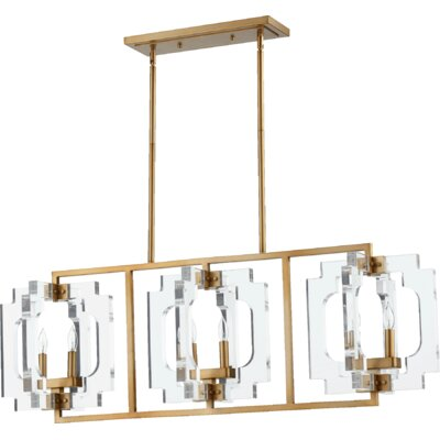 Broadway 6-Light Kitchen Island Pendant
