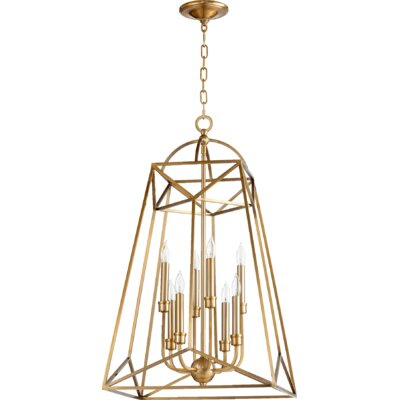 Clarkson 8-Light Foyer Pendant