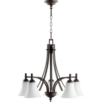 Eastchester 5-Light Shaded Chandelier