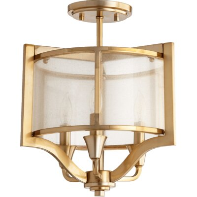 Highline 3-Light Semi Flush Mount