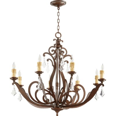 Montgomery 8-Light Candle-Style Chandelier