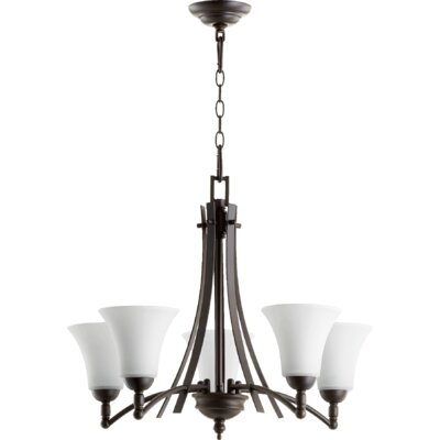 Eastchester Modern 5-Light Shaded Chandelier