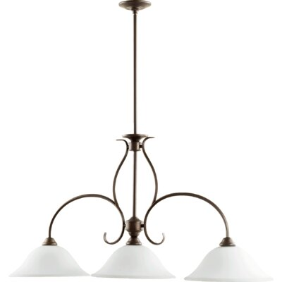 Spencer 3-Light Kitchen Island Pendant