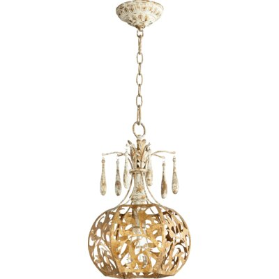 Leduc 1-Light Globe Pendant
