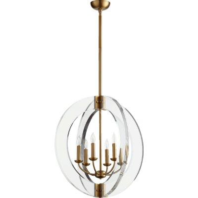 Broadway 6-Light Globe Pendant