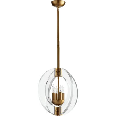Broadway 4-Light Globe Pendant