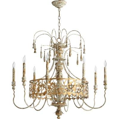 Leduc 8-Light Candle-Style Chandelier