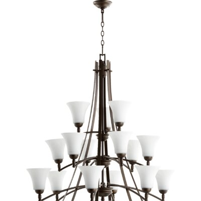 Eastchester 15-Light Shaded Chandelier