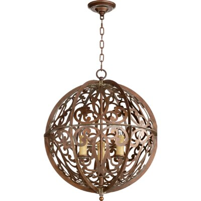 Montgomery 3-Light Globe Pendant