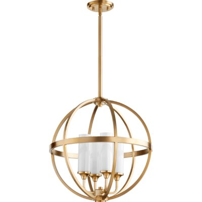 Highline 4-Light Globe Pendant