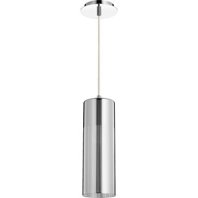 Laser 1-Light Mini Pendant Finish: Silver