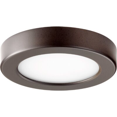 1-Light Flush Mount Finish: Oiled Bronze