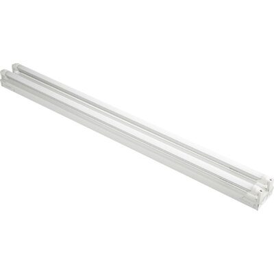 2-Light Flush Mount Size: 2.75 H x 48 W x 4 D