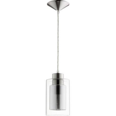 1-Light Mini Pendant Finish: Satin Nickel/Chrome