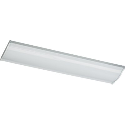 2-Light Flush Mount Size: 3 H x 48 W x 9 D