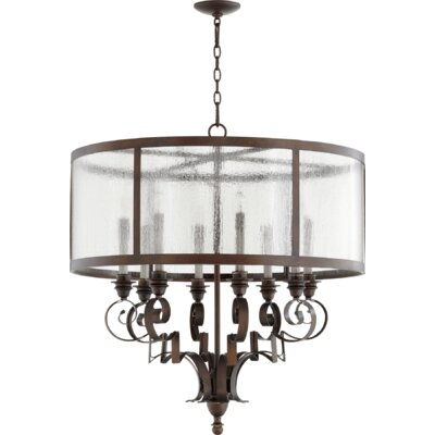 Champlain 8-Light Drum Chandelier Size: 32.5 H x 30.5 W x 30.5 D