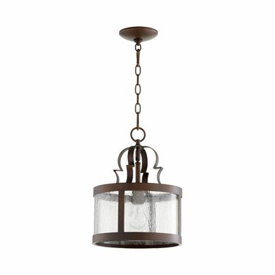 Champlain 1-Light Drum Pendant Finish: Vintage Copper