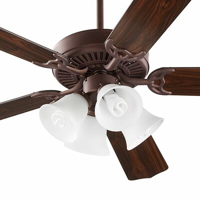 52 Capri V 5-Blade Ceiling Fan Finish: Oiled Bronze