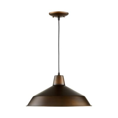 Conover 1-Light Mini Pendant Finish: Oiled Bronze