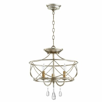 Cilia 3-Light Candle-Style Chandelier