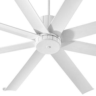 72 Proxima 8 Blade Patio Ceiling Fan Finish: Studio White