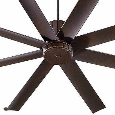 72 Proxima 8 Blade Patio Ceiling Fan Finish: Oiled Bronze