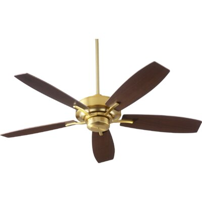 52 SOHO 5-Blade Ceiling Fan Finish: Aged Brass