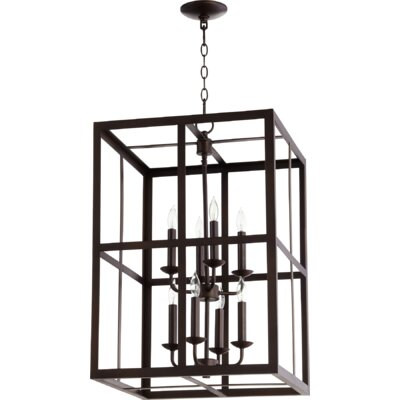 Cubiod II Entry 8-Light Foyer Pendant Finish: Oiled Bronze