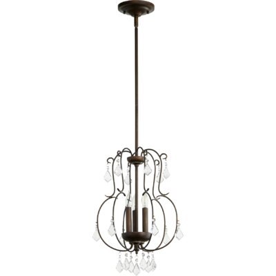 Ariel 3-Light Foyer Pendant Finish: Vintage Copper
