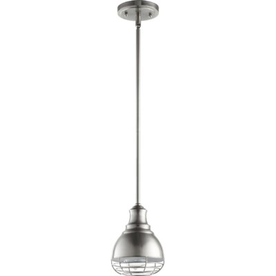 Arbor 1-Light Mini Pendant Finish: Satin Nickel