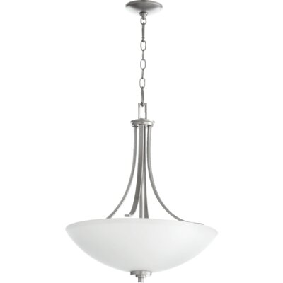 Reyes 4-Light Pendant Finish: Classic Nickel