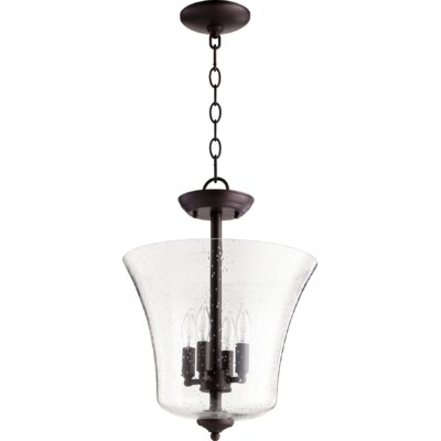 Vessel Seeded 4-Light Mini Pendant Finish: Oiled Bronze