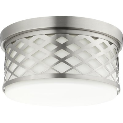 Tommy 3-Light Flush Mount Finish: Satin Nickel