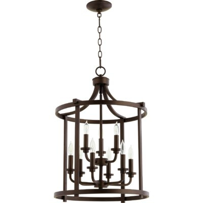 Lancaster Entry 9-Light Foyer Pendant Finish: Oiled Bronze
