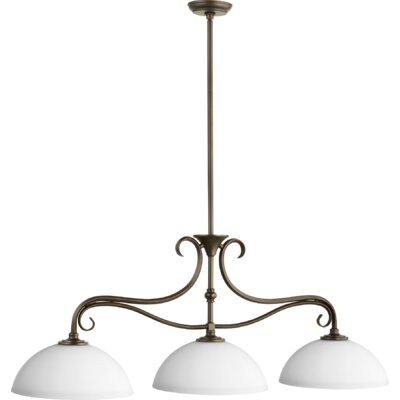 Powell 3-Light Kitchen Island Pendant