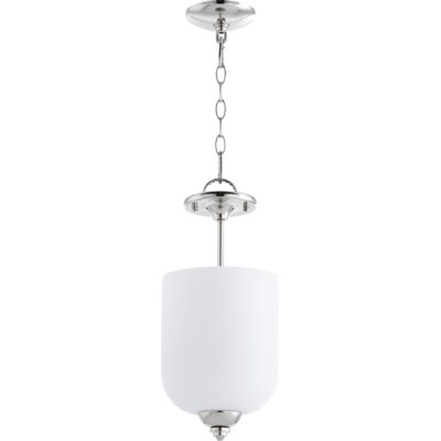 Falbo 3-Light Bowl Pendant Finish: Polished Nickel