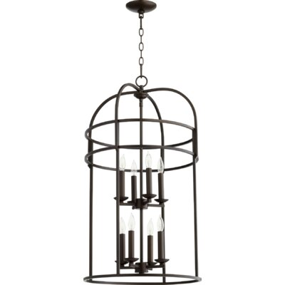 Toque Entry 8-Light Foyer Pendant Finish: Oiled Bronze