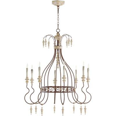 La Maison 8-Light Candle-Style Chandelier