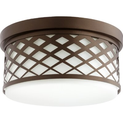 Tommy 3-Light Flush Mount Finish: Oiled Bronze
