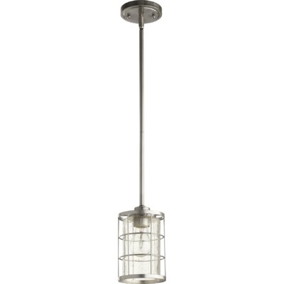 Ellis 1-Light Foyer Pendant Finish: Satin Nickel