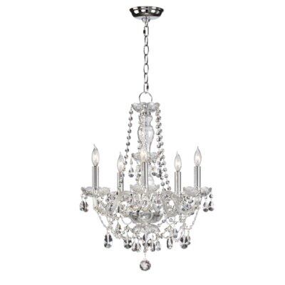 Bohemian Katerina 5-Light Crystal Chandelier