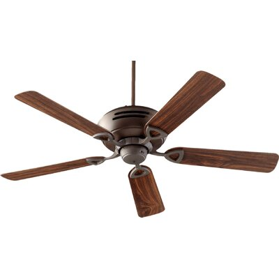 52 Hoffman 5-Blade Ceiling Fan Finish: Oiled Bronze
